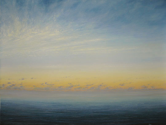 seascape and landscape oil paintings by Dave Goldman, artist from Asheville North Carolina